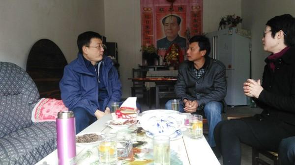 张杰华赴石台县驻村调研基层党建工作
