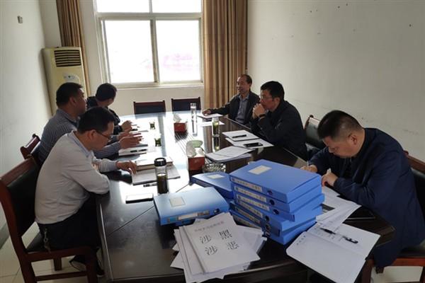 县第六督查组到杜村乡督查扫黑除恶专项斗争工作